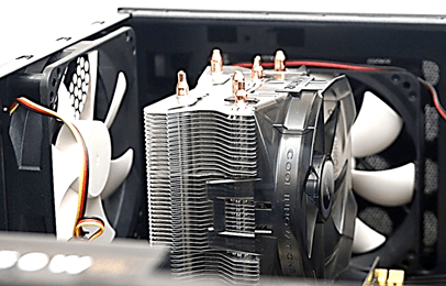 кулер в корпусе компьютера