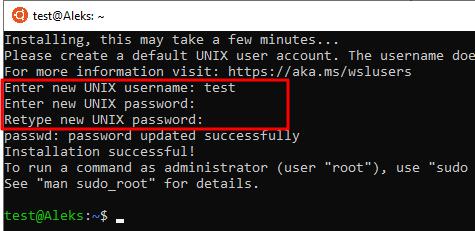 Linux готов к работе