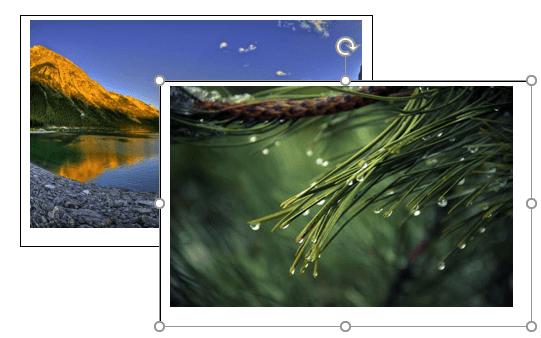 наложение рамок с картинками
