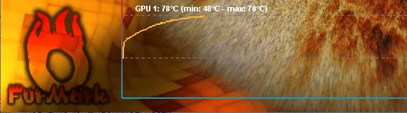 выравнивание графика температуры видеокарты