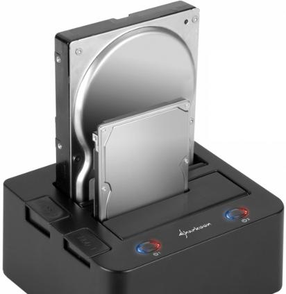док-станция с поддержкой жестких дисков от ноутбука