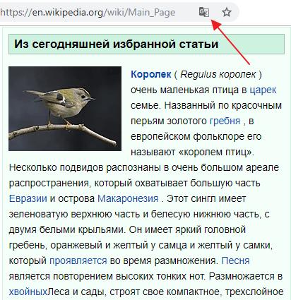 иконка перевода