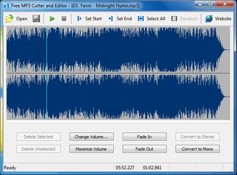 Как обрезать музыку: программа Free MP3 Cutter and Editor