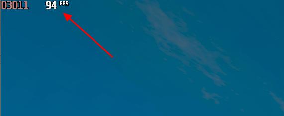 отображение FPS в игре
