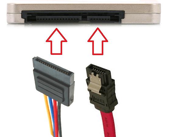 подключение ssd диска