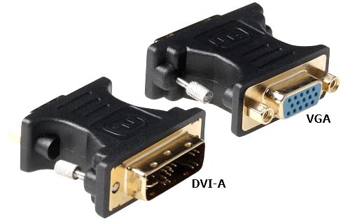 DVI-A VGA переходник