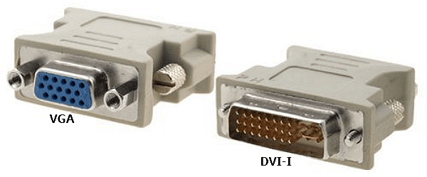 переходник с DVI-I на VGA