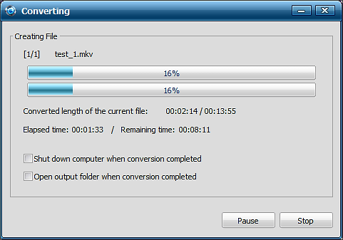 процесс сжатия видео