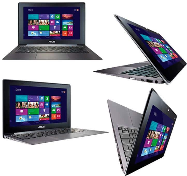 Ноутбук планшет ASUS TAICHI 21