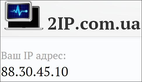 проверка ip адреса