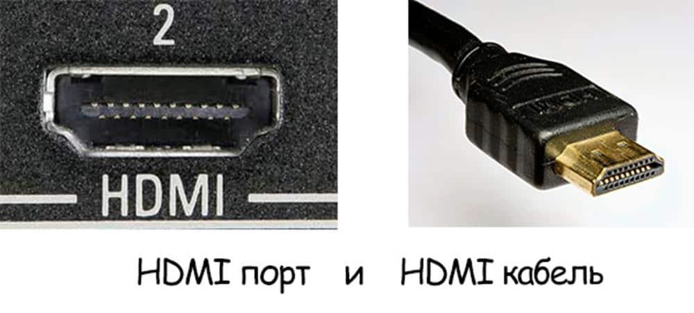 Как подключить монитор к ноутбуку: Интерфейс HDMI