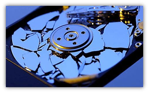 Жесткий диск пропадает из-за неисправности
