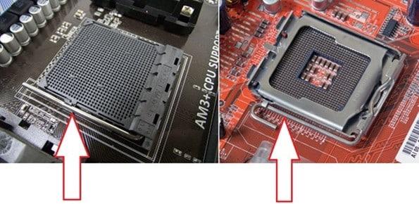 рычаг для снятия процессора
