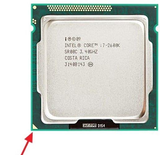 ключ на процессоре