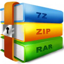 форматы ZIP, RAR и 7z