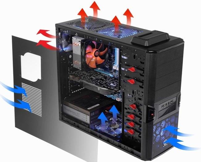 охлаждение компьютерного корпуса