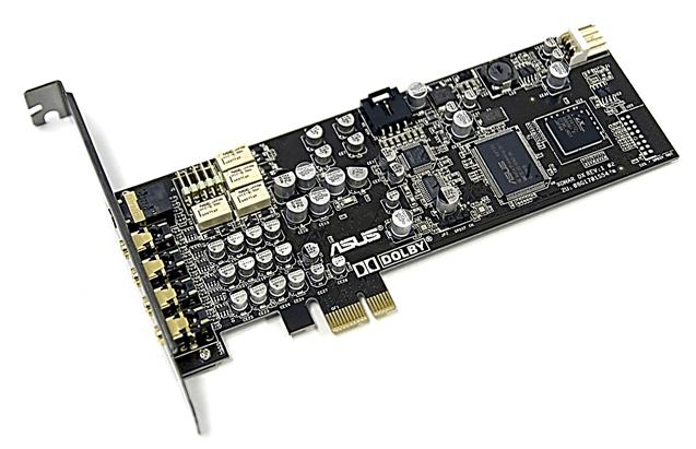 Звуковая карта с PCI Express