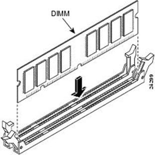 установка модуля оперативной памяти