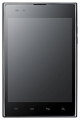 недорогой смартфон с большим экраном: LG Optimus Vu