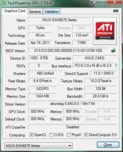 Как узнать характеристики компьютера GPU-Z