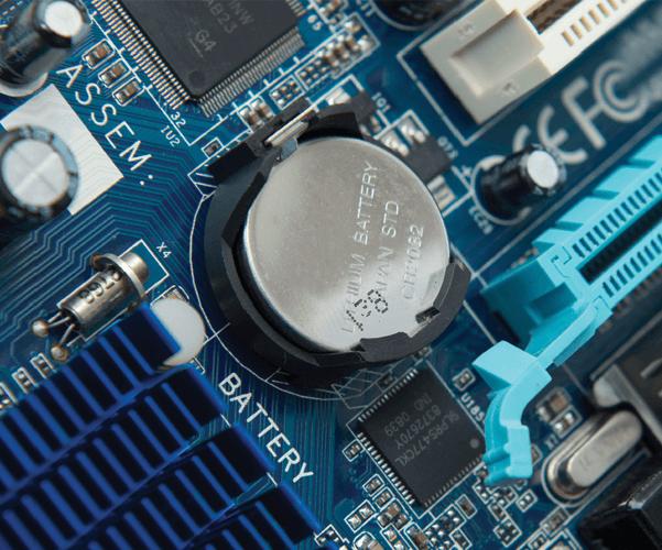 батарейка для сброса настроек BIOS