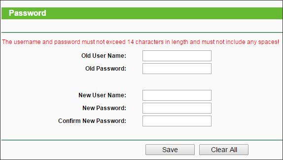 меняем пароль на роутере