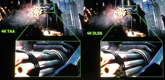 сглаживание DLSS на RTX