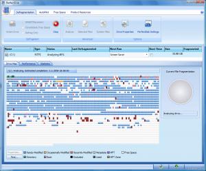 Программа для дефрагментации Raxco PerfectDisk