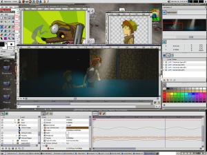 Программа для создания анимации Synfig Studio