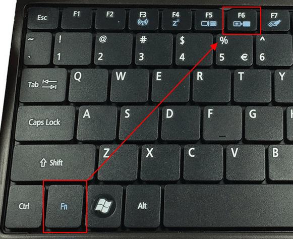 комбинация клавиш с кнопкой Fn