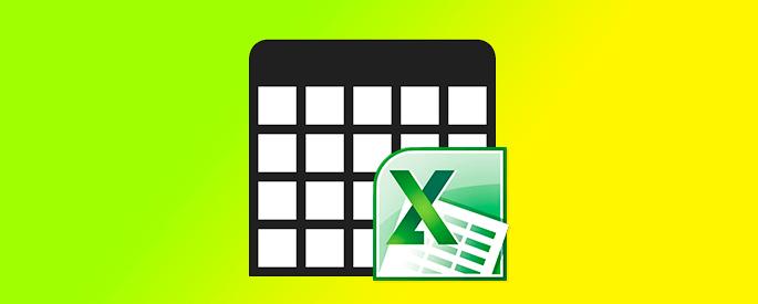 Как сделать столбцы строками в Excel