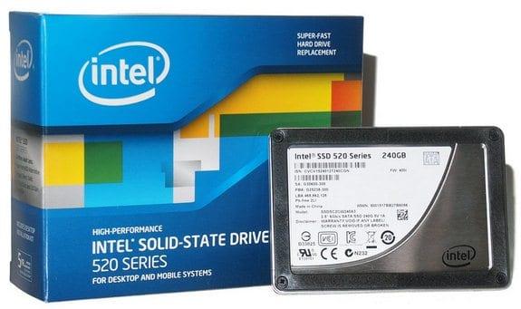 Как выбрать SSD: Intel SSD 520 Series