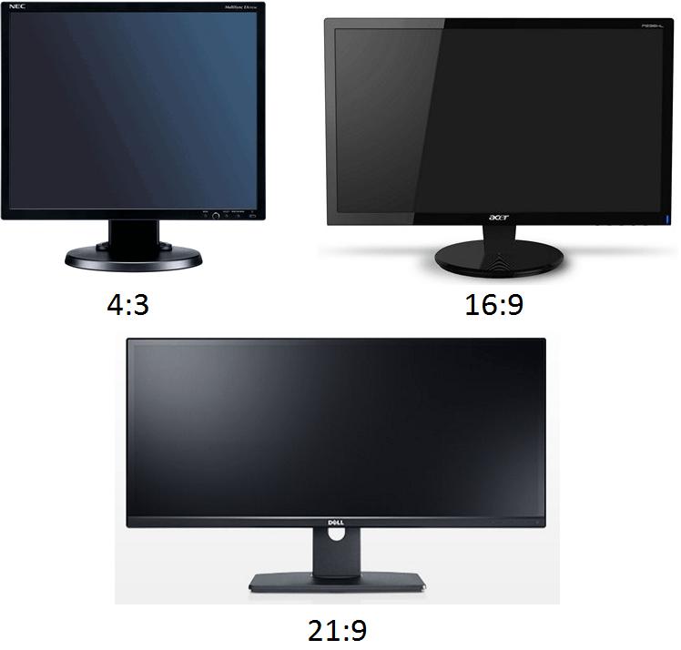 соотношение сторон монитора