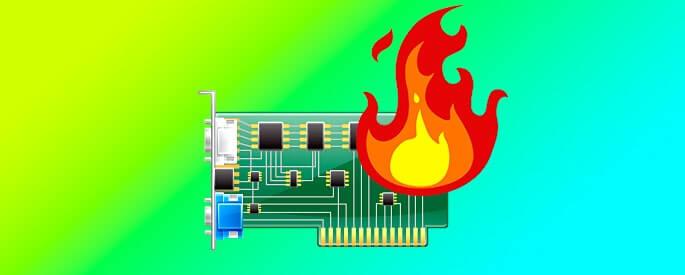 Как понизить температуру видеокарты